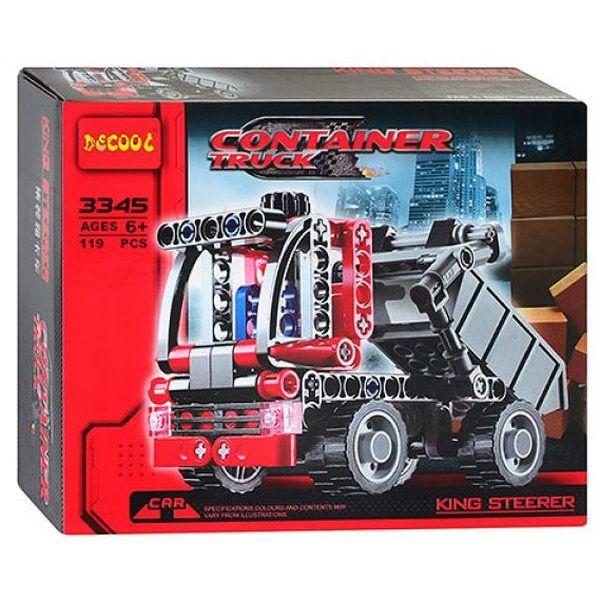 Конструктор Decool Машина контейнеровоз 3345