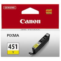 270x270-Картридж CANON CLI-451Y желтый