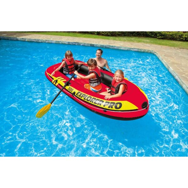 Надувная лодка Intex Explorer Pro 100 58355NP