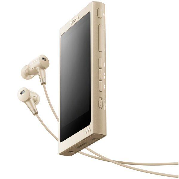 MP3 плеер Sony NW-A45HN 16Гб (золото)