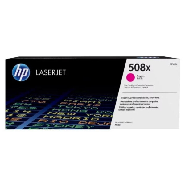 Катридж HP 508X (CF363X) для HP LaserJet Enterprise M552