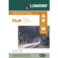 270x270-Фотобумага Lomond Матовая двухстороняя А4 130 г/кв.м. 25 листов (0102039)