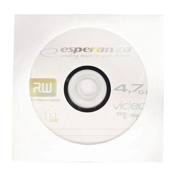 Диск DVD+R ESPERANZA ENVELOPE 4,7GB X16