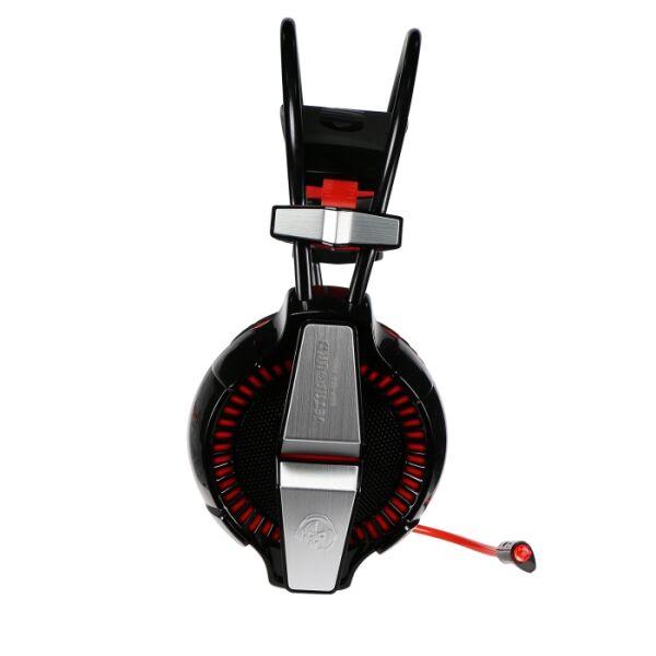 Игровая стереогарнитура Jet.A GHP-400 PRO чёрно-красная