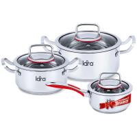 270x270-Набор посуды LARA Prima LR02-108 Prima + сотейник