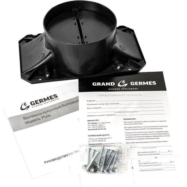 Вытяжка кухонная Germes Pula (60, черный)