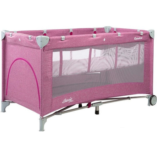 Манеж Caretero Basic Plus (розовый)