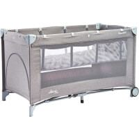 270x270-Манеж Caretero Basic Plus (серый)