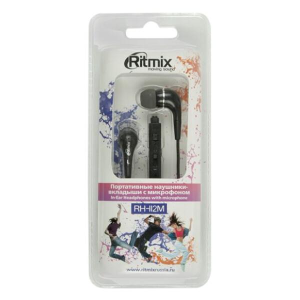 Наушники RITMIX RH-112M (черный)