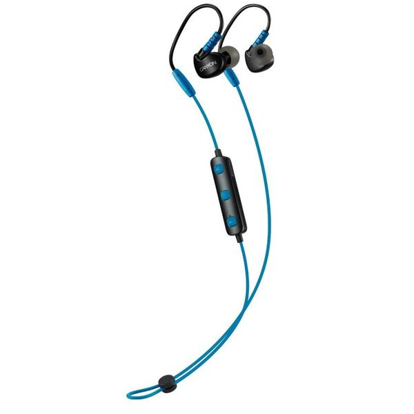 Bluetooth-наушники CANYON CNS-SBTHS1BL синие