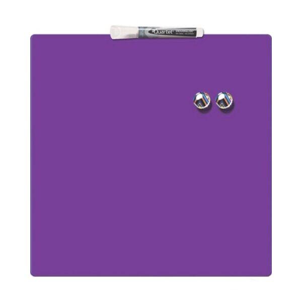 Магнитно-маркерная доска NOBO REXEL MAG SQ TILE 360X360MM Purple (1903897)