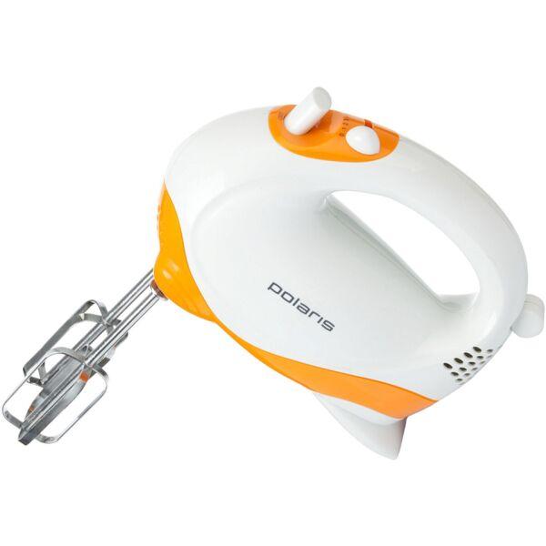 Миксер Polaris PHM2010 Белый/Оранжевый