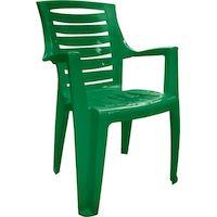 270x270-Стул пластиковый АлеанаРекс (зеленый)