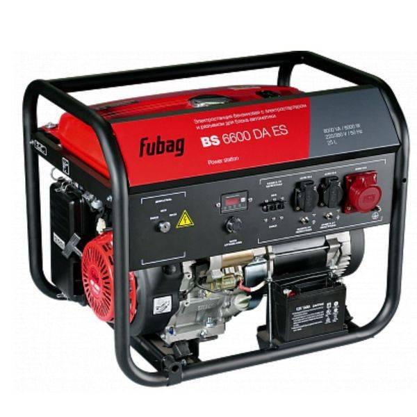 Генератор Fubag BS 6600 DA ES (838205)