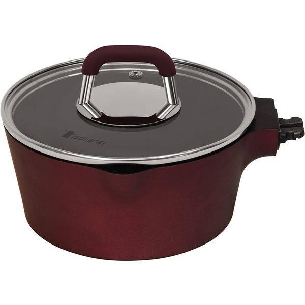 Набор посуды Polaris Burgundy-06S