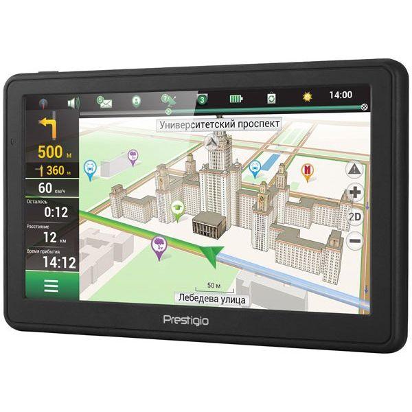 Комплект GPS навигатор Prestigio GeoVision 7059 (PGPS7059CIS04GBNV) + видеорегистратор RoadRunner 140 (PCDVRR140)