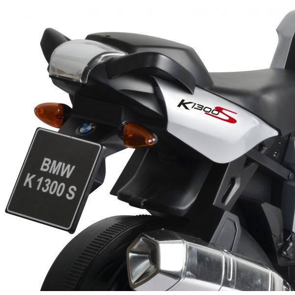 Электромотоцикл Chi Lok Bo BMW K 1300E (белый)