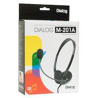Наушники с микрофоном Dialog M-201A