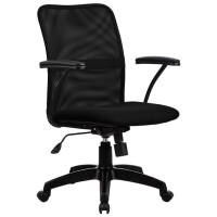Кресло офисное Metta FP-8PL (черный)