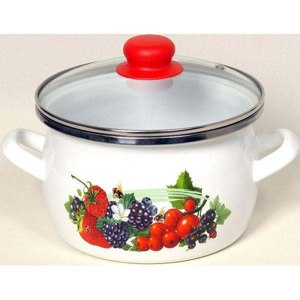 Кастрюля Сантэкс 1-2215412 (ягоды)