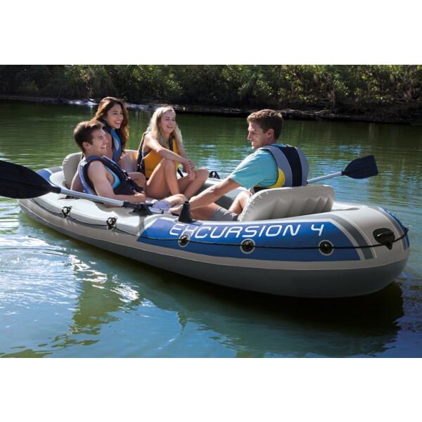 Надувная лодка Intex Excursion 4 68324NP