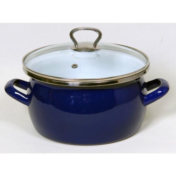 Кастрюля Сантэкс 1-2430111 (синий)