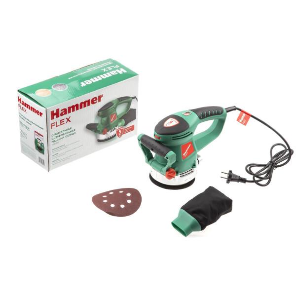 Эксцентриковая шлифмашина Hammer OSM480 (599224)