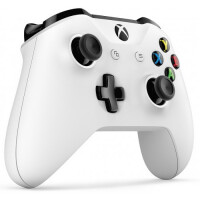 Беспроводной геймпад MICROSOFT Xbox One TF5-00004 белый + Игры Rare Replay+Gears of War 4+Forza Horizon 2