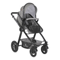 Детская коляска LORELLI Alexa 3в1 (темно-серый)