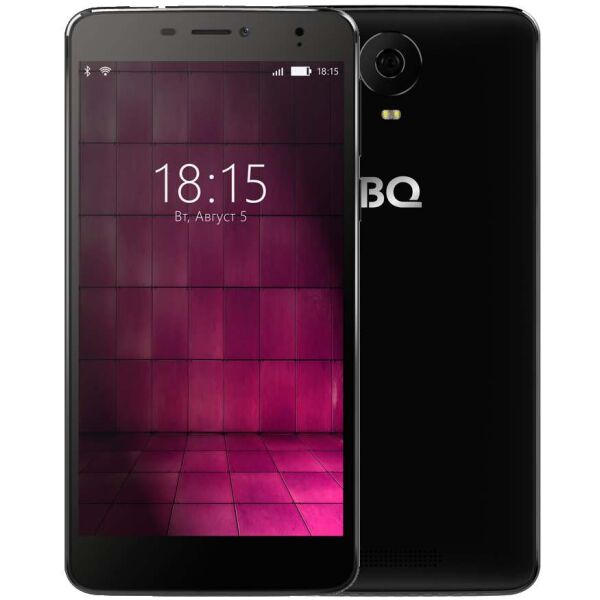 Смартфон BQ-Mobile BQS-6050 Jumbo Черный