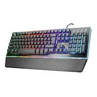 Клавиатура TRUST GXT 860 Thura Semi-mechanica (22416)