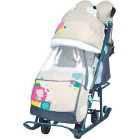 270x270-Санки-коляска Ника Детям 7-2 New (мишка, бежевый)