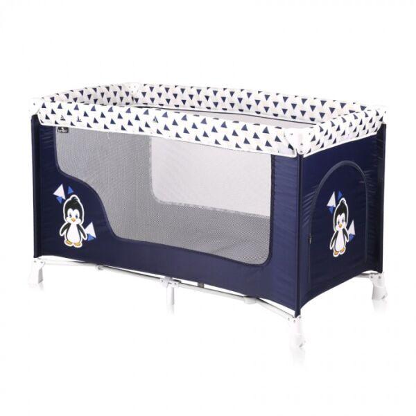 Манеж-кровать LORELLI San Remo 1 (Blue White Penguin)