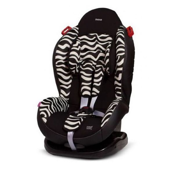 Автокресло COTO BABY Swing (зебра)