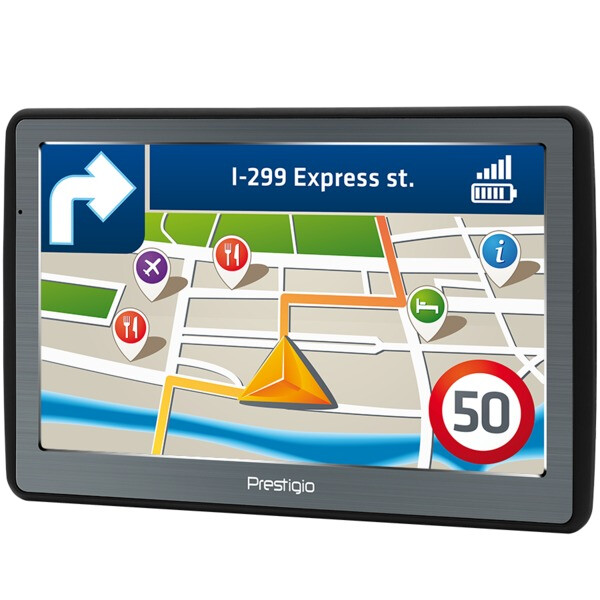 Комплект : GPS навигатор PRESTIGIO GeoVision 7060 (PGPS706000008GB00)+автомобильный видеорегистратор PRESTIGIO Roadrunner 140 (PCDVRR140)