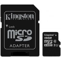270x270-Карта памяти KINGSTON SDHC-micro Card 16GB SDCS/16GB