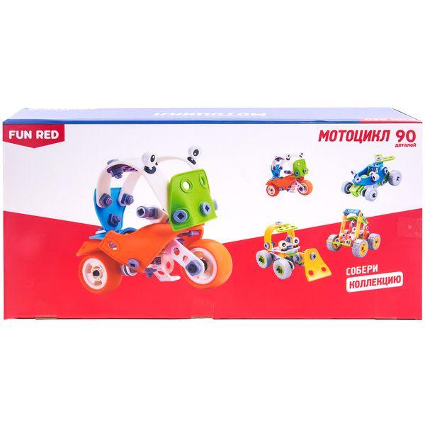 Гибкий конструктор FUN RED Мотоцикл (FRCF007)