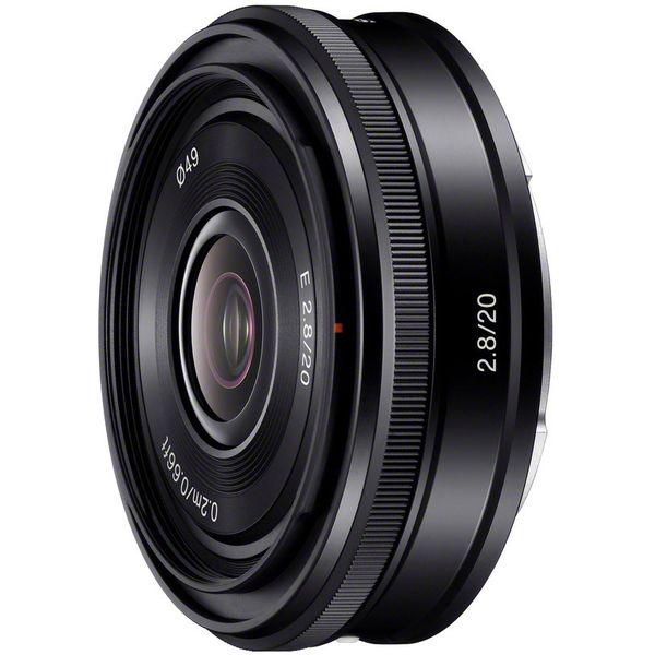 Объектив Sony E 20mm F2.8 (SEL20F28)