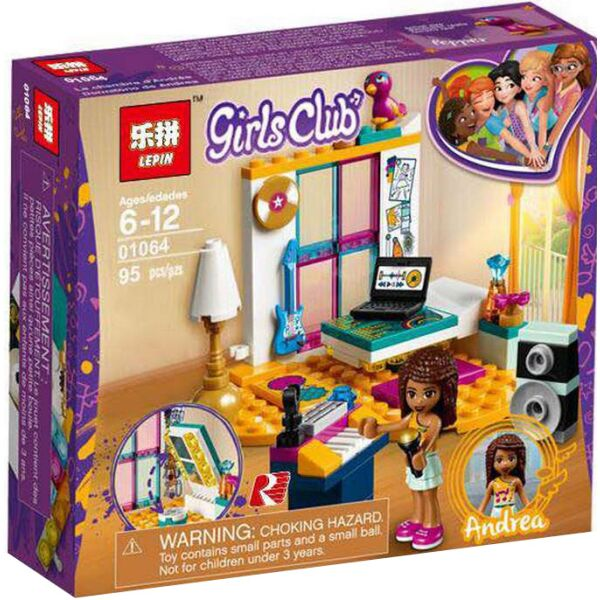 Конструктор LEPIN Andrea's Bedroom (01064)