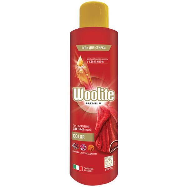 Гель для стирки WOOLITE Premium Color 900 мл