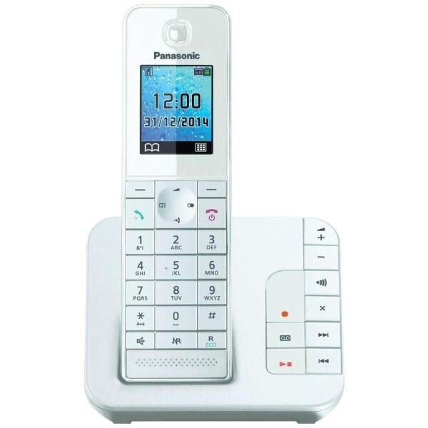 Беспроводной телефон стандарта DECT Panasonic КХ-TGH220RUW