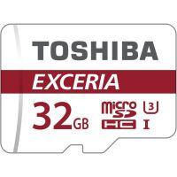 270x270-Карта памяти Toshiba SDHC-micro Card 32Gb M302 Class 10 UHS-I + adapter (THN-M302R0320EA)