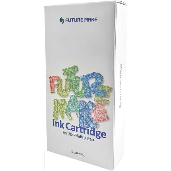 Набор пластика для 3D ручек FUTURE MAKE Микс А (красный, зеленый, желтый, черный, коричневый)