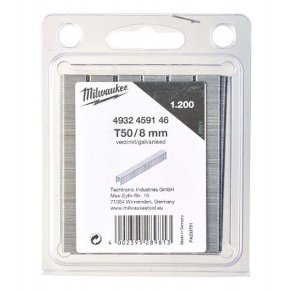Скобы MILWAUKEE T50/8 (4932459146)
