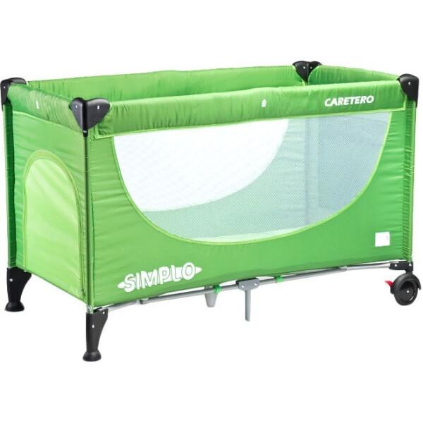 Манеж-кровать Caretero Simplo (зеленый)