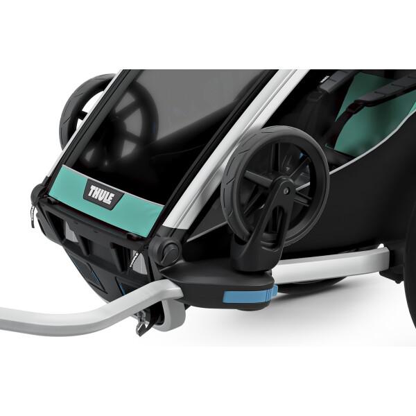 Коляска детская Thule Chariot Lite 2 10203007 Blue Grass/Black
