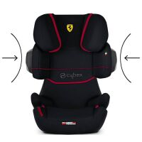Автокресло Cybex Solution X2-Fix (Ferrari Victory Black)