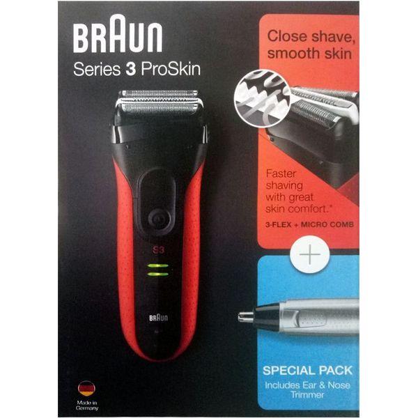 Электробритва BRAUN 3030s + триммер EN10
