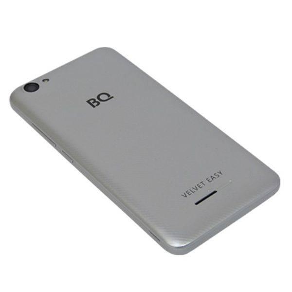 Смартфон BQ-Mobile BQ-5000G Velvet Easy (серый)