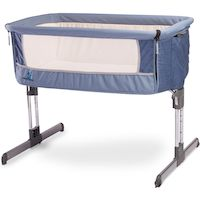 270x270-Детская кроватка CARETERO Sleep2gether (синий)